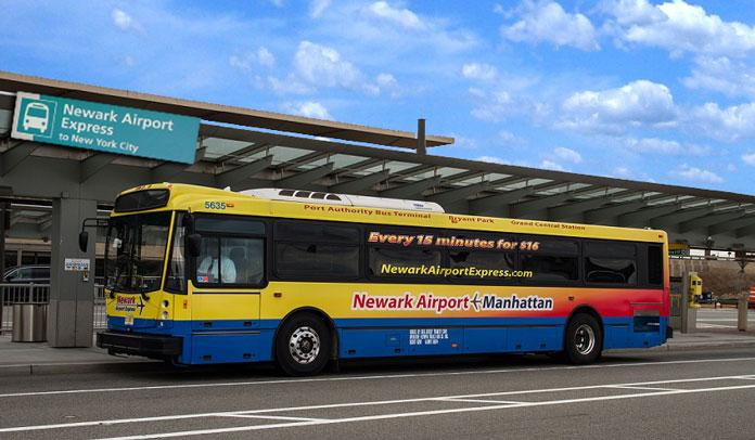express bus to newark from manhattan