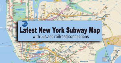 New York Subway Map: Latest Updated Version