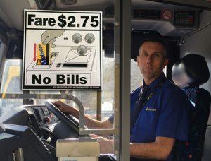 no bills on mta bus