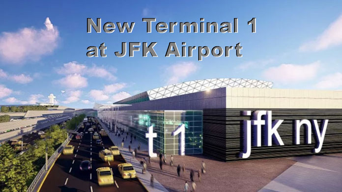 Terminal one at JFK Airport