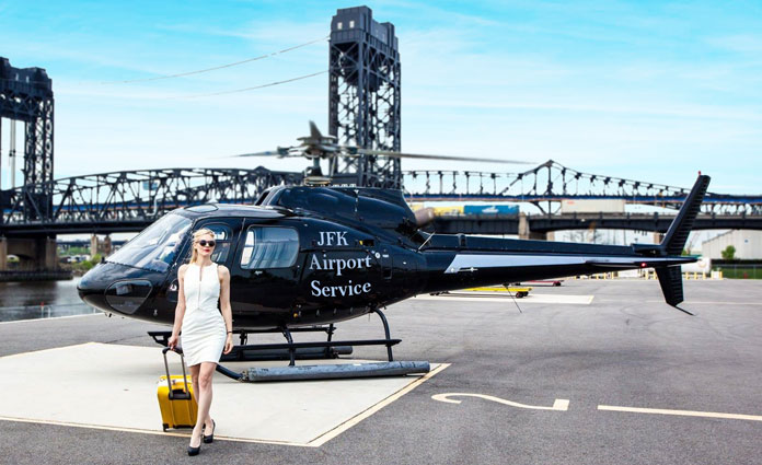 helicopter service from jfk
