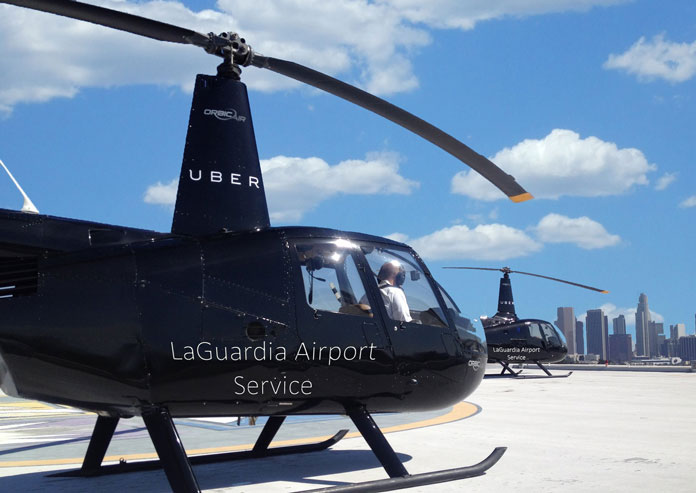 helicopter service to laguardia from manhattan