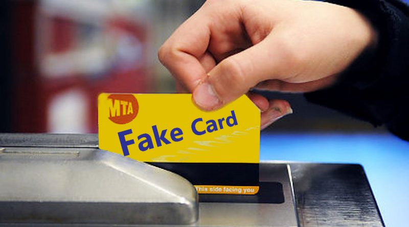 Fake Metrocards