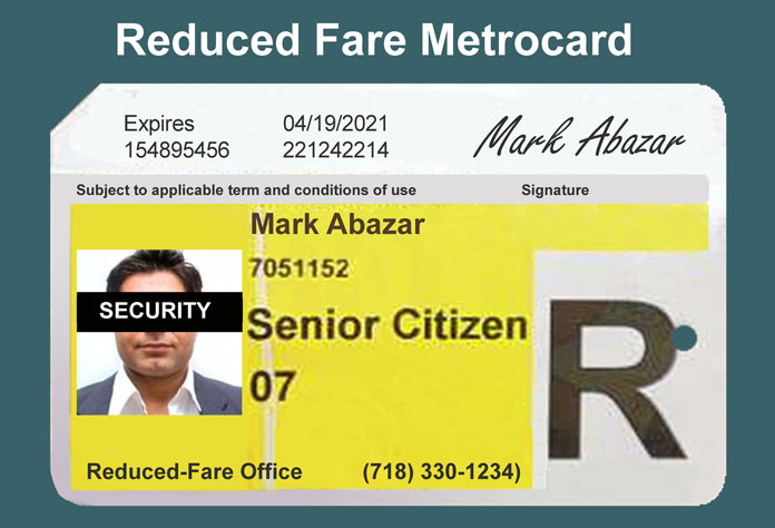 reduced fare metrocard