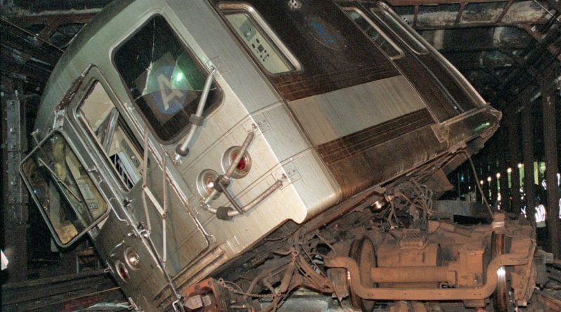 NYC Subway Train Crash