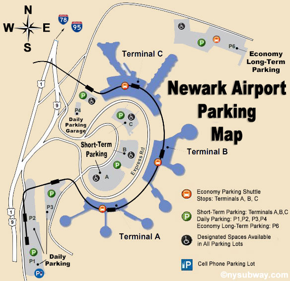 Newark Airport Parking: Three choices of parking lots and ... on newark airport layout map, ewr airport terminal map, laguardia terminal c map, laguardia airport lga terminal map, jacksonville jax airport terminal map, laguardia airport delta terminal map, newark airport terminals airlines, newark airport arrivals map, detroit metro airport mcnamara terminal map, miami international airport terminal map, newark airport gate map, newark airport gate layout, city of newark california map, united airlines newark airport map, newark nj airport map, newark liberty airport map, newark airport parking map, newark airport concourse map, newark airport p4 map, schiphol amsterdam airport gate map,