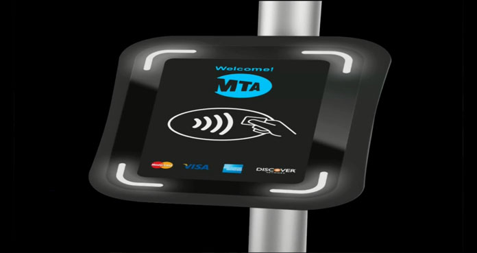 Metrocard replacement system validator on the NYC subway system