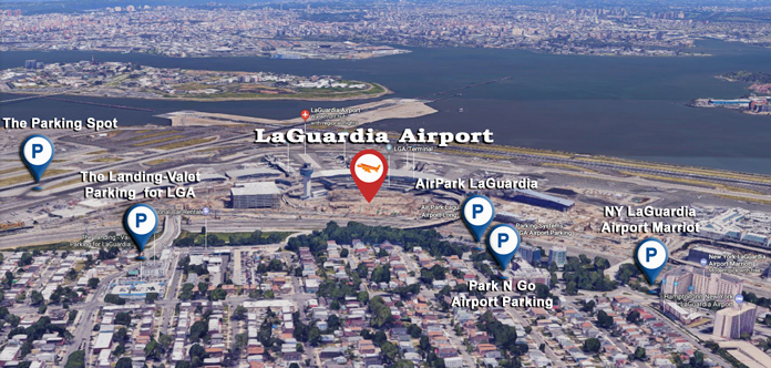 Off-site map of LGA
