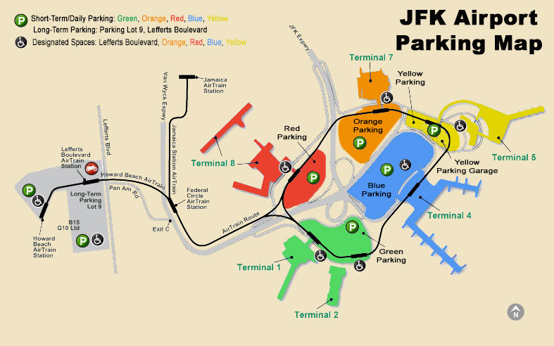 Parking at JFK - The Best Way To Park at The New York City JFK Airport