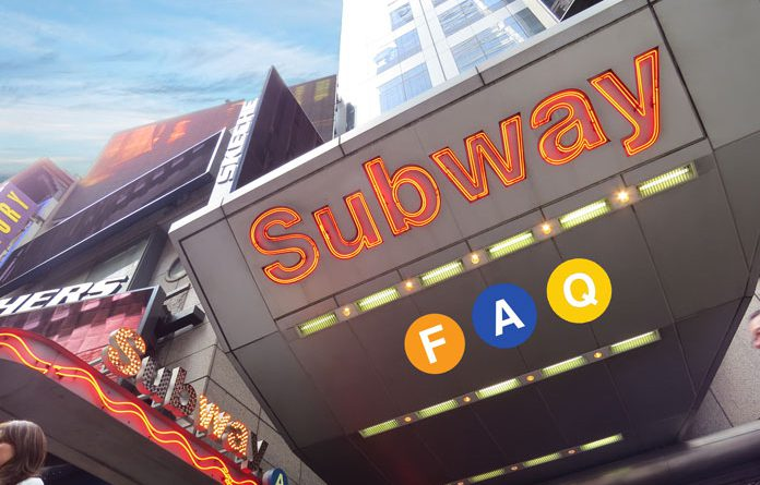 subway faq